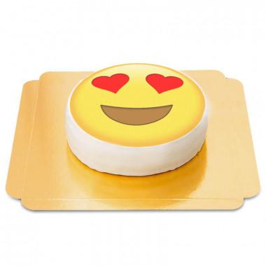 Verliebtes-Emoji-Torte