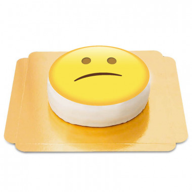 Enttäuschter Emoji-Torte
