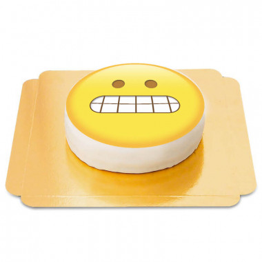 Schadenfroher Emoji-Torte