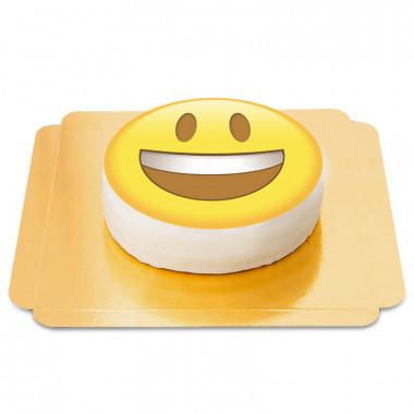 Fröhlicher Emoji-Torte