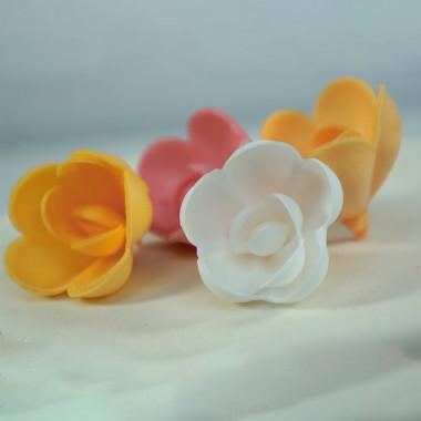 Essbare Rosen (4 Stück)