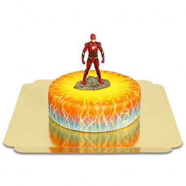 Flash auf Elektrizität-Torte