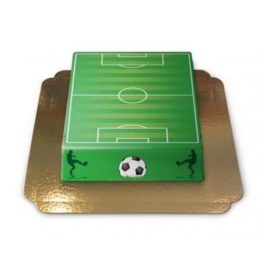 Fußballfeld-Torte