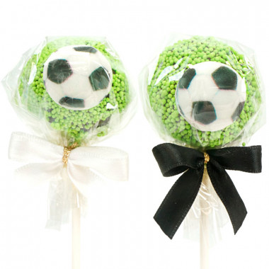 Fußball Cake-Pops ( 12 Stück )
