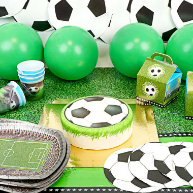 Fussball Partyset - inkl. Torte