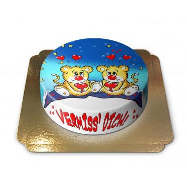 Vermiss' Dich Torte