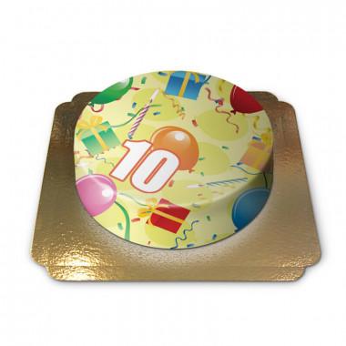 Geburtstagstorte mit Zahl