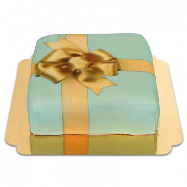 Geschenk-Torte grün