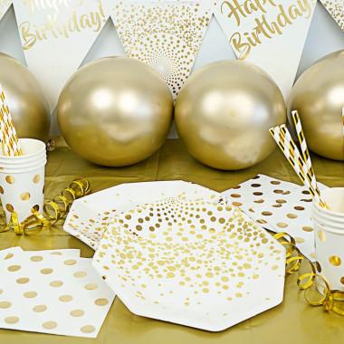 """Deko-Set """"Goldener Geburtstag"""""""