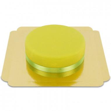 Grüne Torte mit Tortenband