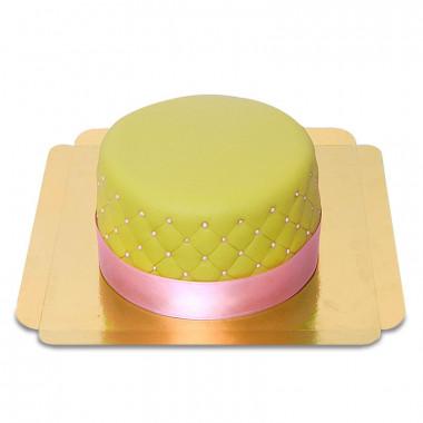 Grüne Deluxe Torte - doppelte Höhe
