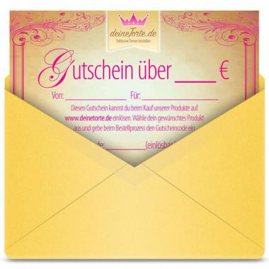 Geschenk-Gutschein - deineTorte.de