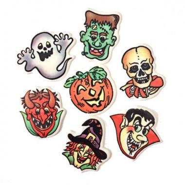 Halloween-Deko, (7 Stück)