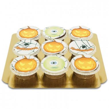 Halloween-Cupcakes, 9 Stück