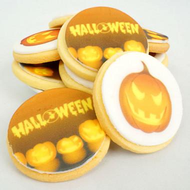 Halloween-Kekse (12 Stück)