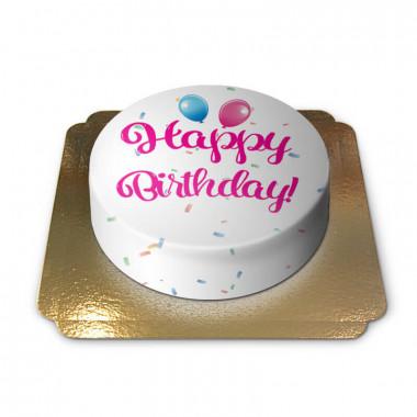 Happy Birthday Torte PINK