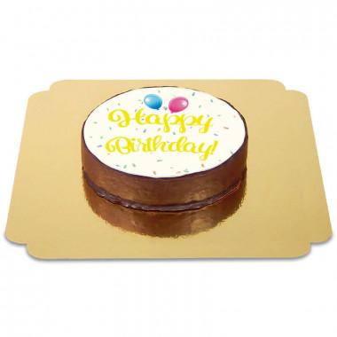 Happy-Birthday-Sachertorte-GELB