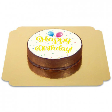 Happy-Birthday-Sachertorte-GELB