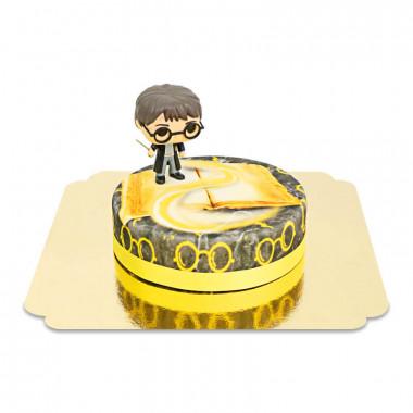 Harry Potter auf gelber Zauber-Torte