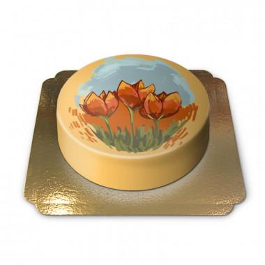 Holland Tulpen-Torte