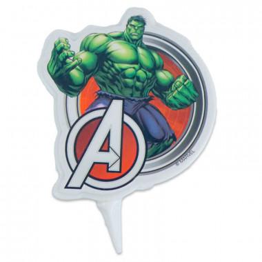 Hulk Tortenkerze