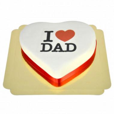 I Love Dad-Herztorte