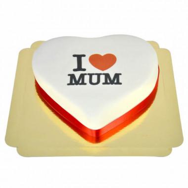 I Love Mum-Herztorte