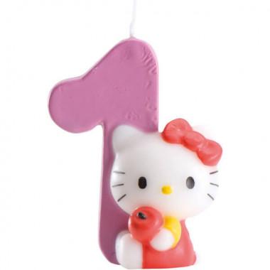 Hello Kitty Tortenkerze, Zahl 0-9