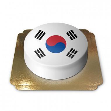 Südkorea-Torte