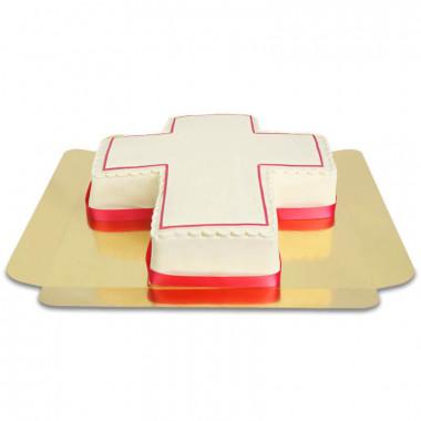 Kreuz-Torte, verschiedene Farben