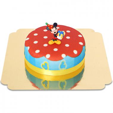 Micky Maus auf Party-Torte
