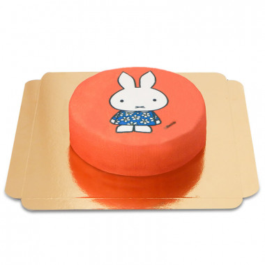Rote Miffy Torte