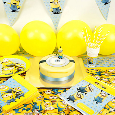 Partyset Minions - inkl. Torte