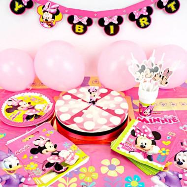 Minnie Maus Partyset - inkl. Torte