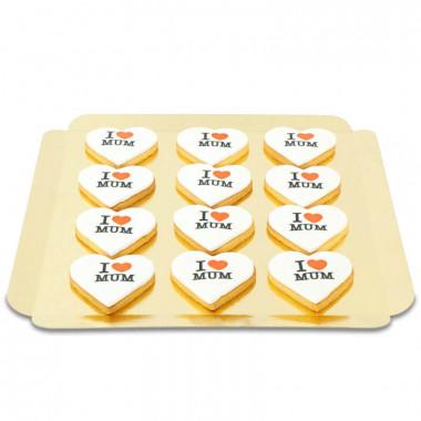 I Love Mum Kekse (12 Stück)