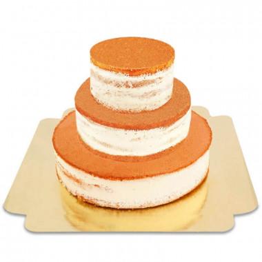 Naked Cake dreistöckig