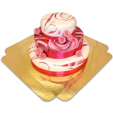 Pink Wedding Hochzeitstorte