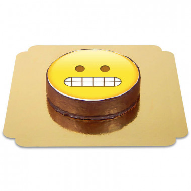 Emoticon Sachertorte Schadenfroh
