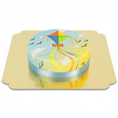 Papierdrachen-Torte