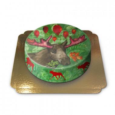 Weihnachts Elch-Torte von Pia Lilenthal
