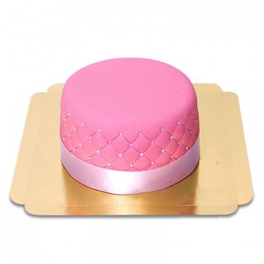 Pinke Deluxe-Torte - doppelte Höhe