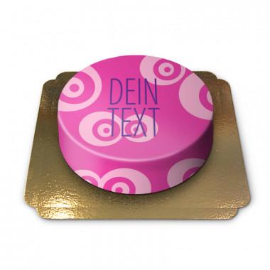 Pinke-Muster-Torte