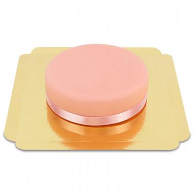 Pinke Torte mit Tortenband
