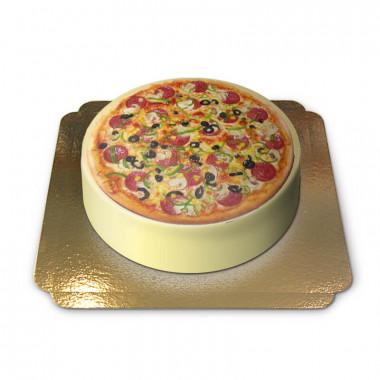Pizza-Torte