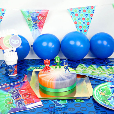 PJ Masks-Partyset inkl. Torte