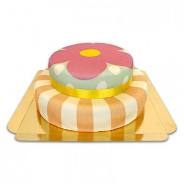 Playful-Torte, 2-Stöckig