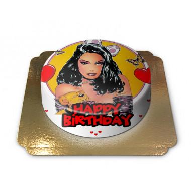 Sexy Happy Birthday Torte