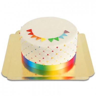 Pride-Deluxe-Torte - doppelte Höhe