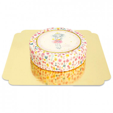 Prinzessin Lillifee-Torte in Glitter & Gold