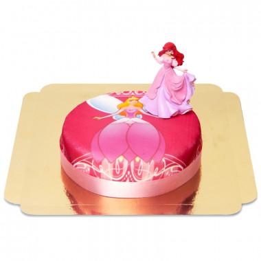 Prinzessin-Torte mit Arielle Figur